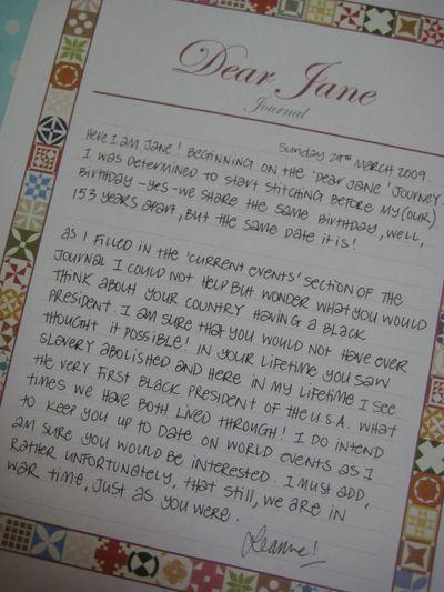 March 29 2009 First Dear Janes011