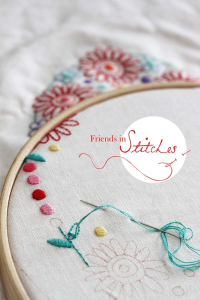 Friends in Stitches sample image 1