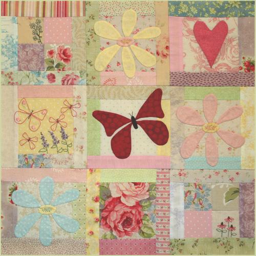 Butterfly Garden - Block 3