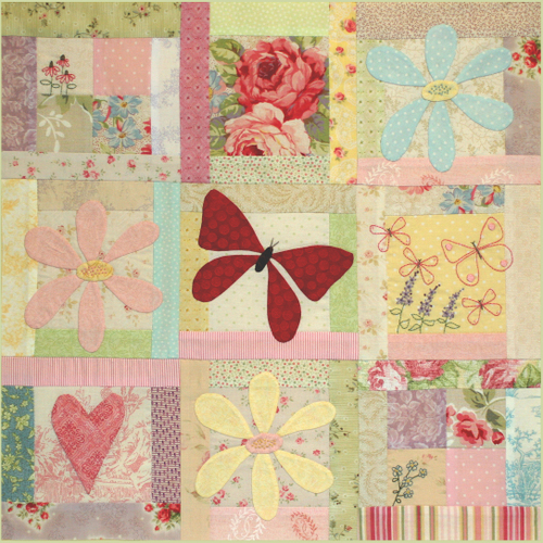 Butterfly Garden - Block 7