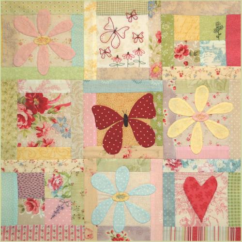 Butterfly Garden - Block 9