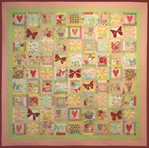 Butterfly Garden - Block 10
