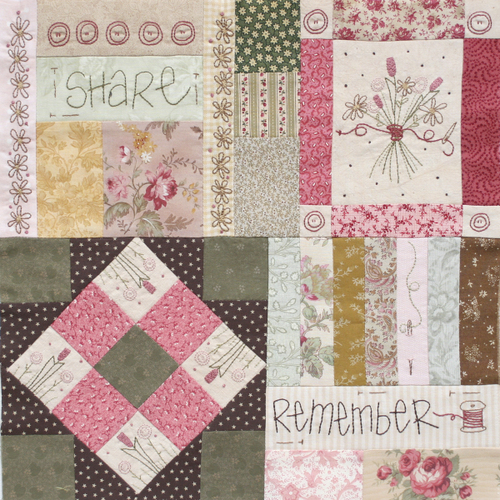Journey of a Quilter - Block 3