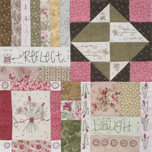 Journey of a Quilter - Block 7