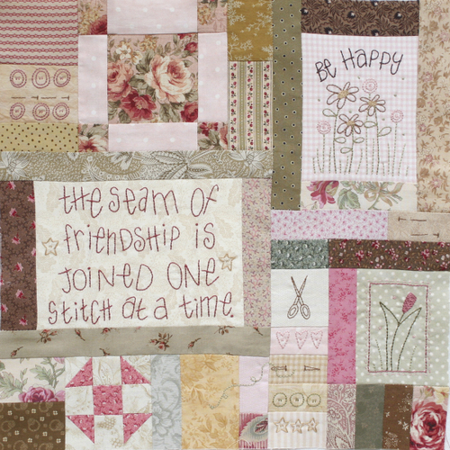 Journey of a Quilter - Block 8