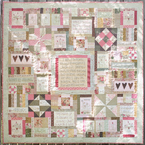 Journey of a Quilter - Block 10
