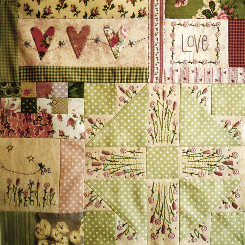 Leanne's House Block of the Month Quilt - Block 2