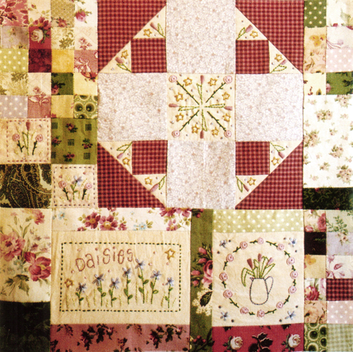 Leanne's House Block of the Month Quilt - Block 4