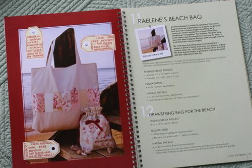 Raelene's Beach Bag and Drawstring Bag for the Beach