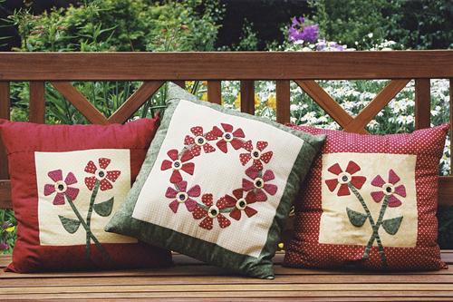 011 - Summer Garden Cushions