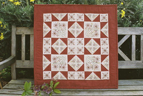 022 - Winter Garden Quilt