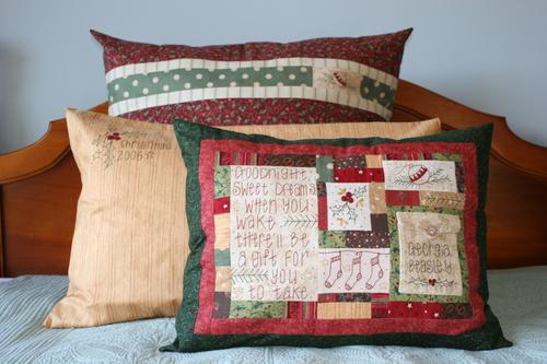 3 Christmas Pillows