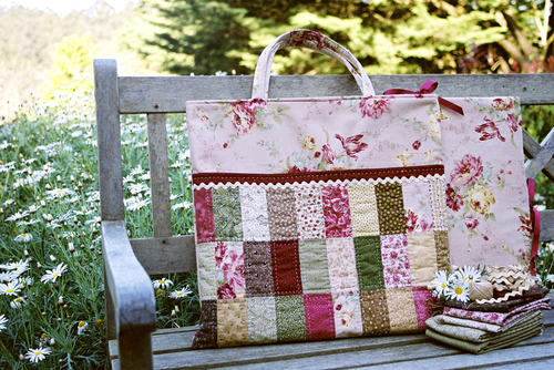 Quilt Bag & Block Keeper