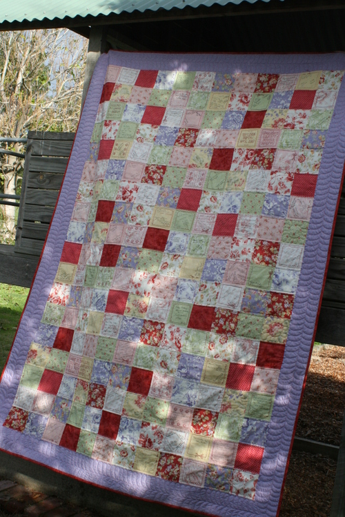 Making Memories Quilt - Picture 1