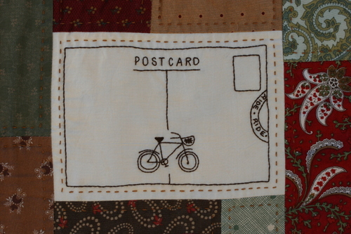 Postcard with love from...