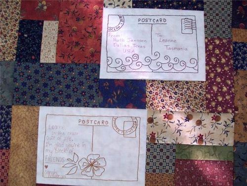 Leanne M Postcards Quilt1
